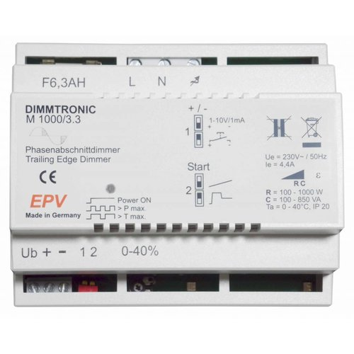 DIMMTRONIC M1000/3.3 Trailing-edge dimmer