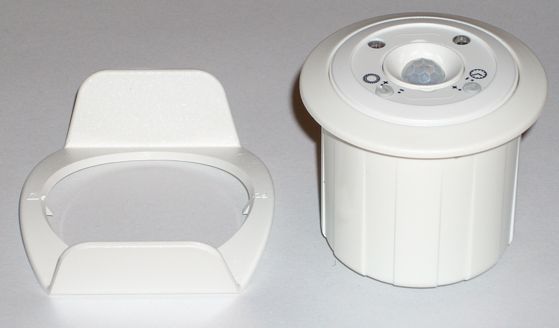 Occupancy sensor with clip
