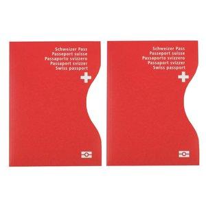 RFID-Schutzhüllen für Reisepässe | Helvetia | 2er-Set