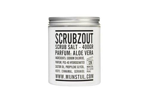 Mijn Stijl Scrubzout parfum aloe vera 400 gram