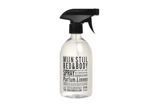 Mijn Stijl Bed & Bodyspray parfum Linnen wit