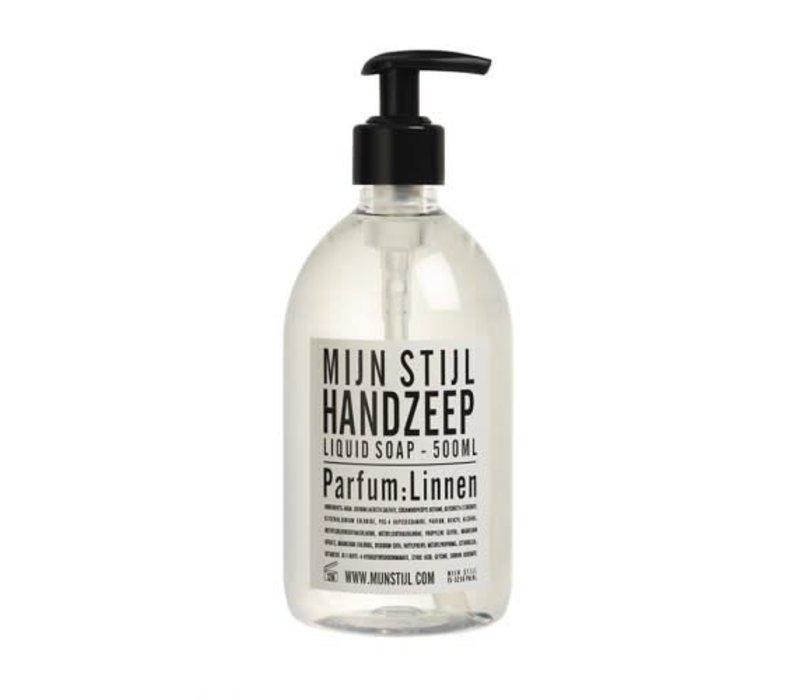 Handzeep parfum Linnen wit