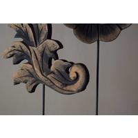 Set houten Lelie& bloem 30 cm
