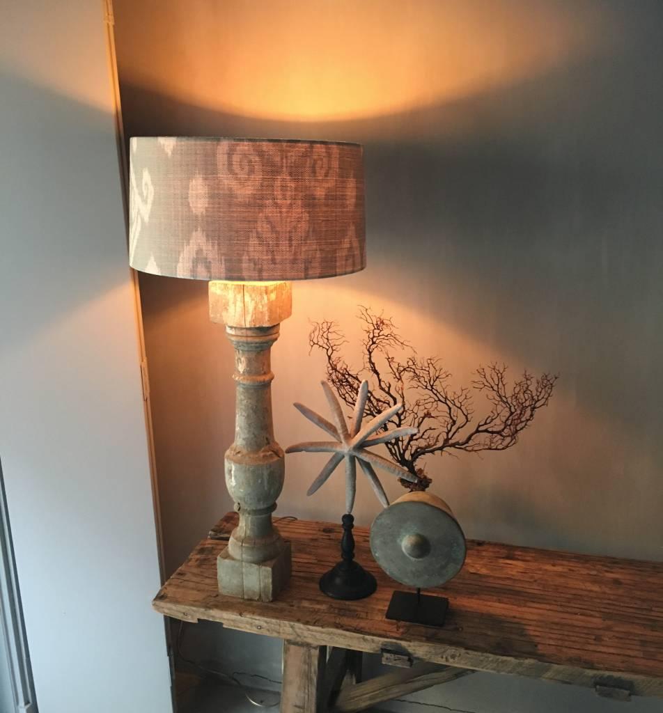 Lampenkap ikat linnen ijsblauw 😍 - Belle Home | Interieur | Gifts ...