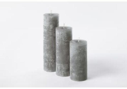 Deco Candle Lotus Kaars Dim Grey