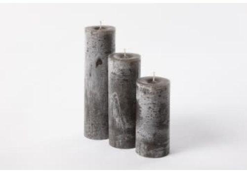 Deco Candle Lotus Kaars Dark Opaqu