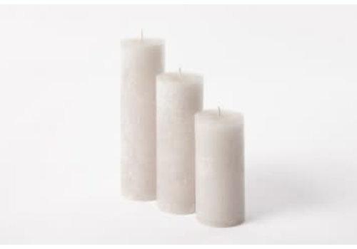 Deco Candle Lotus Kaars Linnen
