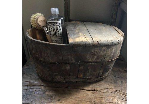 Aura Peeperkorn Ovale oude houten bak