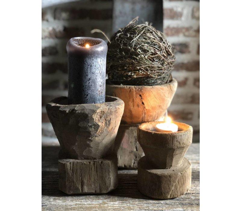 Kandelaar hout zaaier