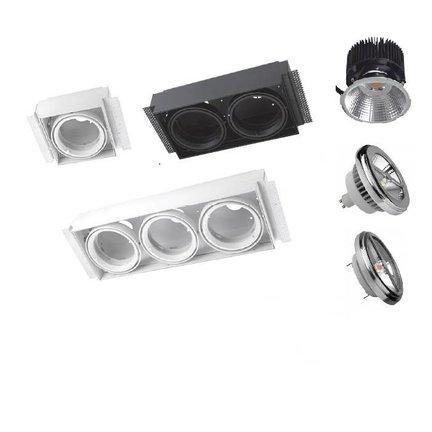 Multidir Evo L serie trimless led inbouwspot voor 111mm ledlichtbronnen