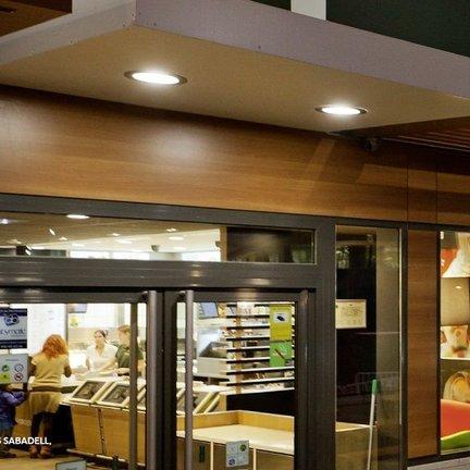 Outdoor inbouw plafondlampen