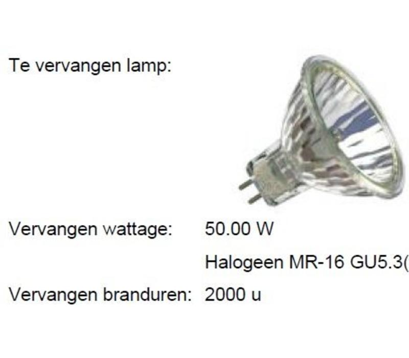 Reflector MM05312 MR16 GU5.3 12V-7.5W-36gr-2800K DIM  op=op