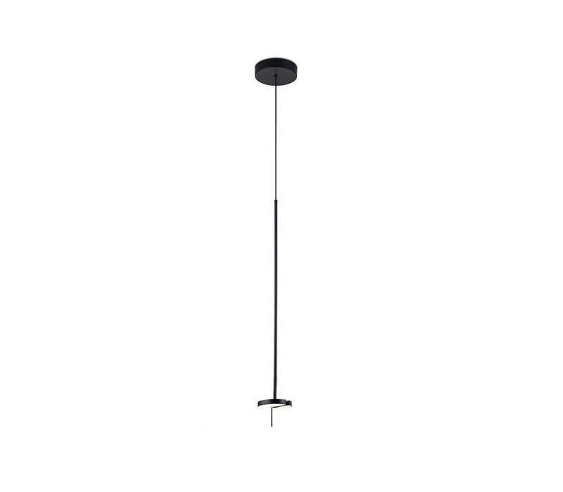 Invisible led hanglamp zwart 9W-3000K dimbaar