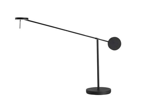 Grok Invisible Led tafellamp zwart touch dim