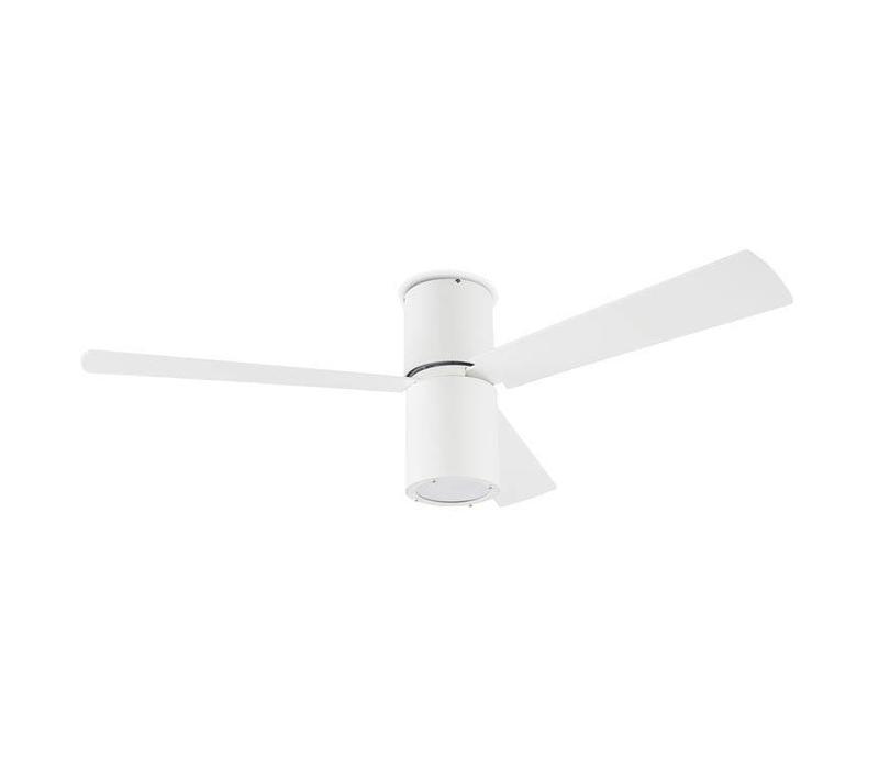 Formentera plafond ventilator wit met  verlichting