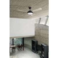 Gregal plafond ventilator zwart met  led verlichting