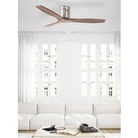 Stem plafond ventilator walnoothout
