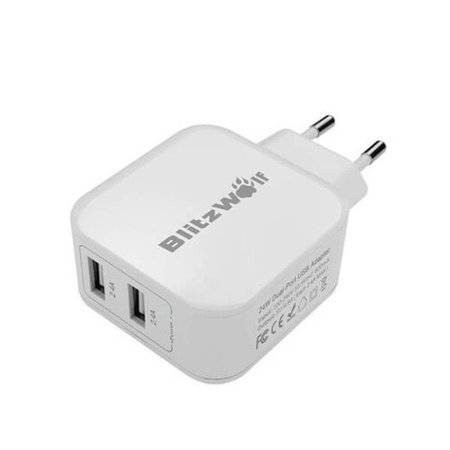 Blitzwolf BlitzWolf Dual Port Small Wall Charger