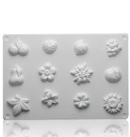 Zeepmal floraminiatuur vormpjes #549