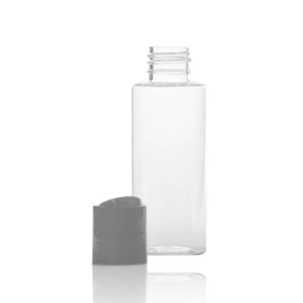 Flacon met witte klikspuitdop 60 mL