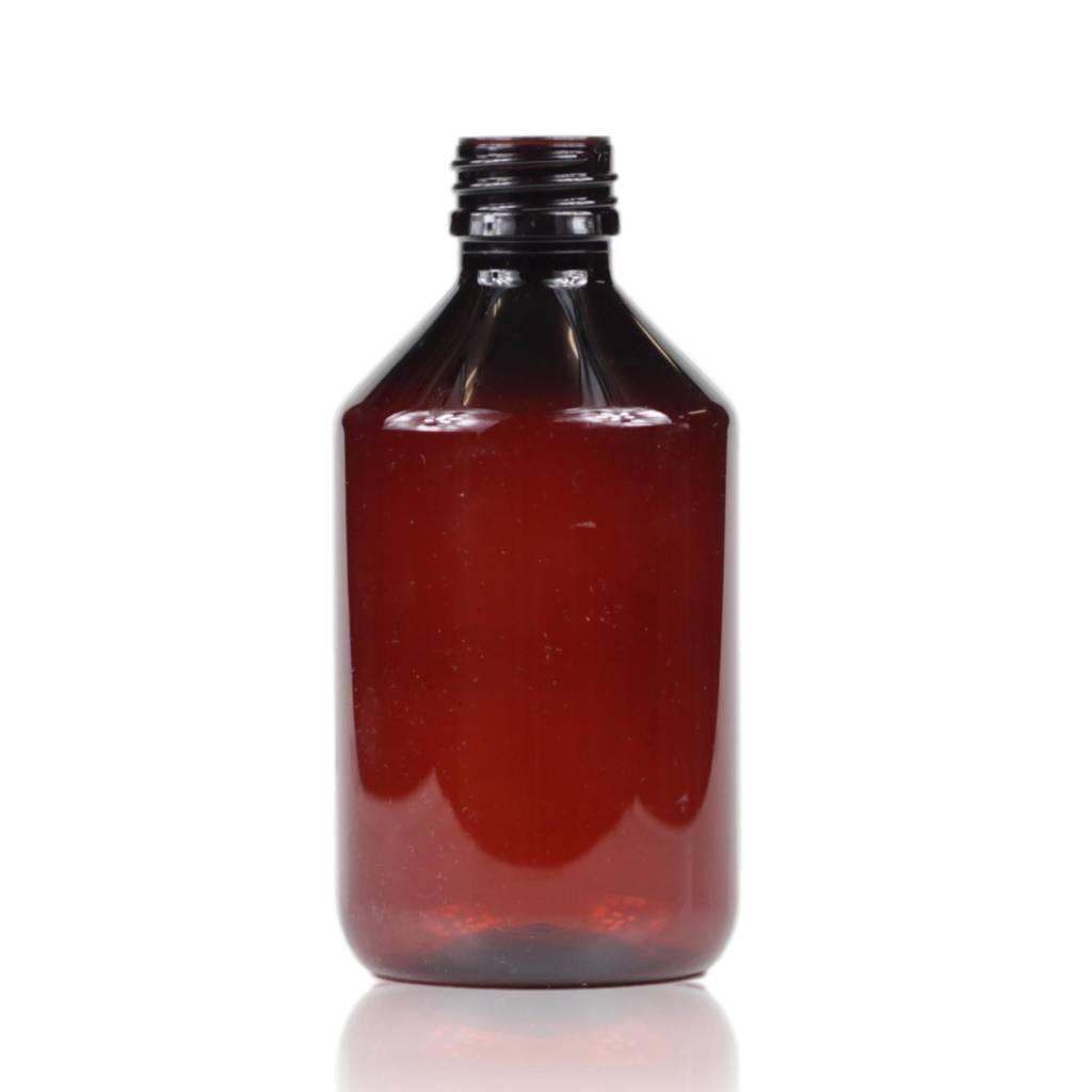 Bruine PET fles 250 mL