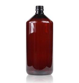 Bruine PET fles 1 L