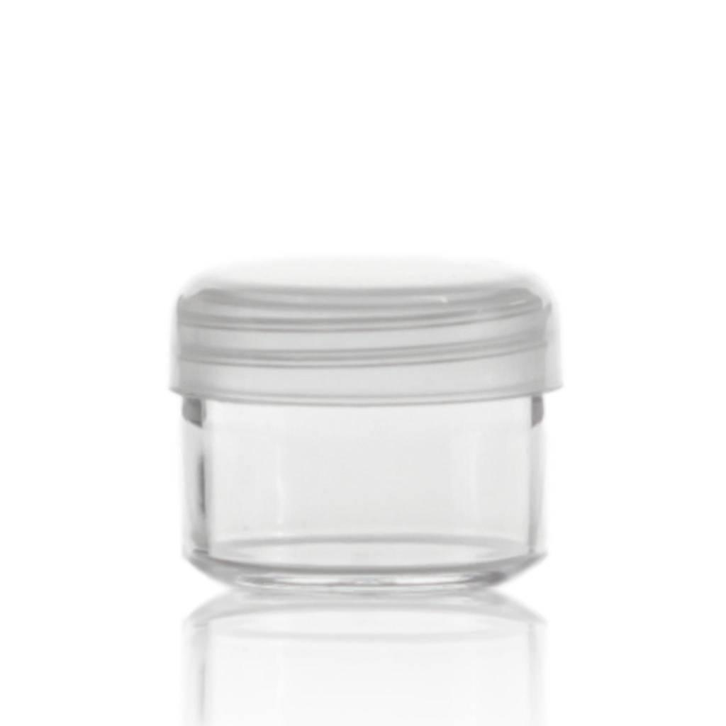 Crèmepotje transparant 20 mL