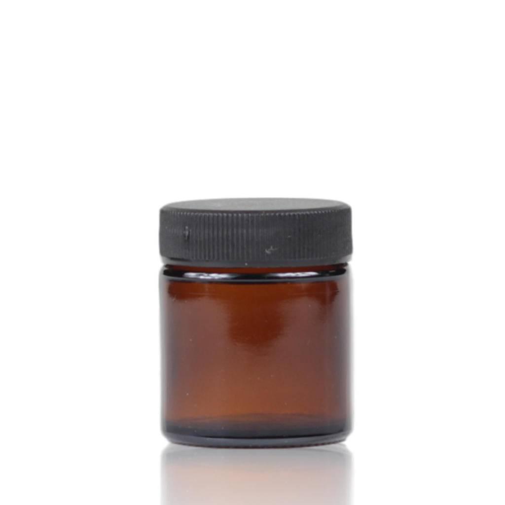 Bruinglas crèmepot 30 mL