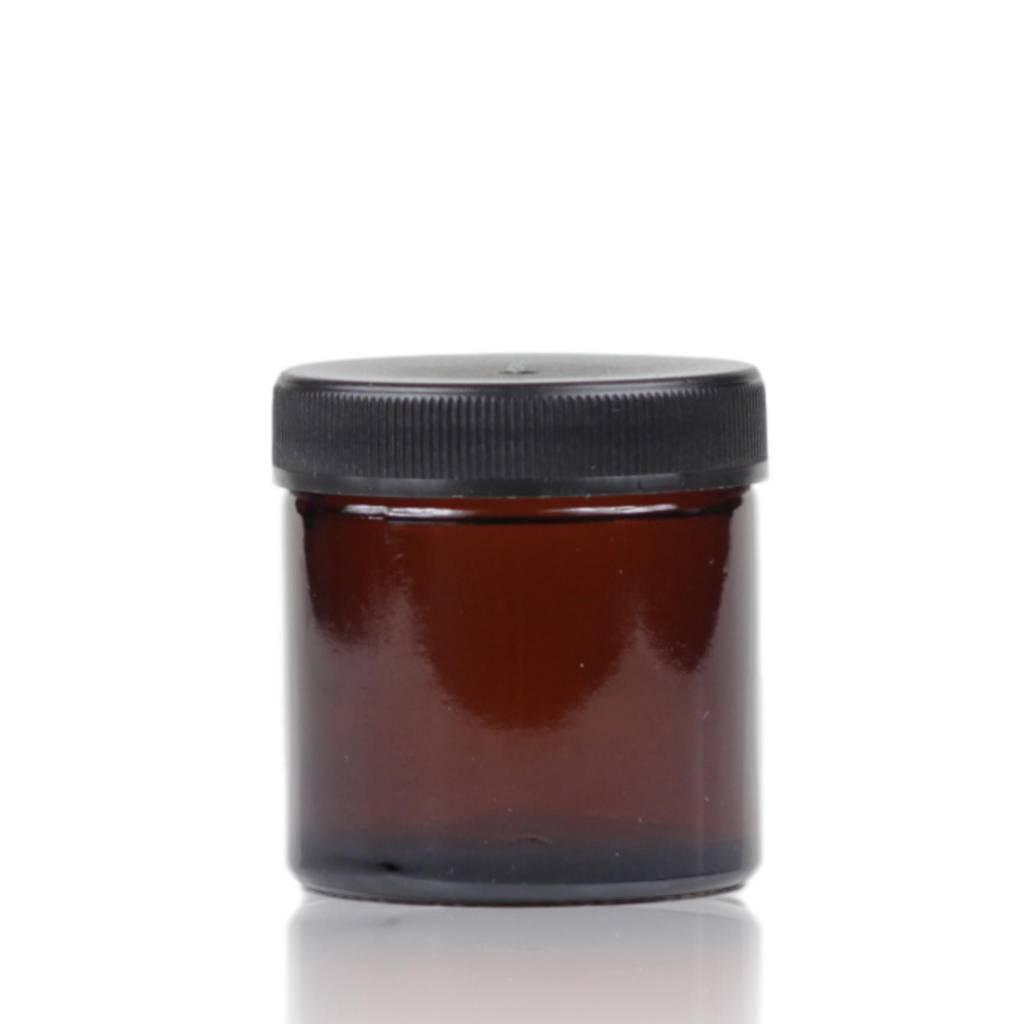 Bruinglas crèmepot 60 mL