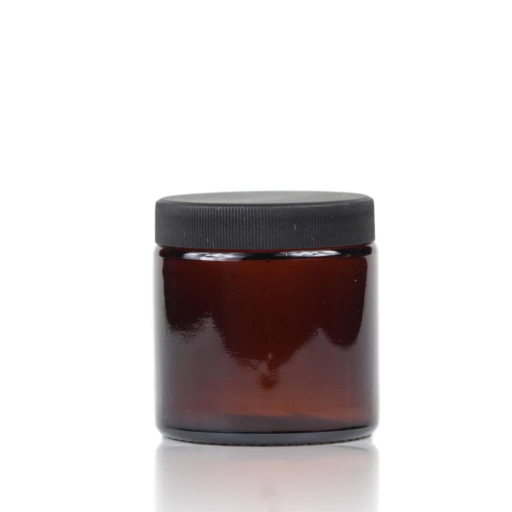 Bruinglas crèmepot 120 mL