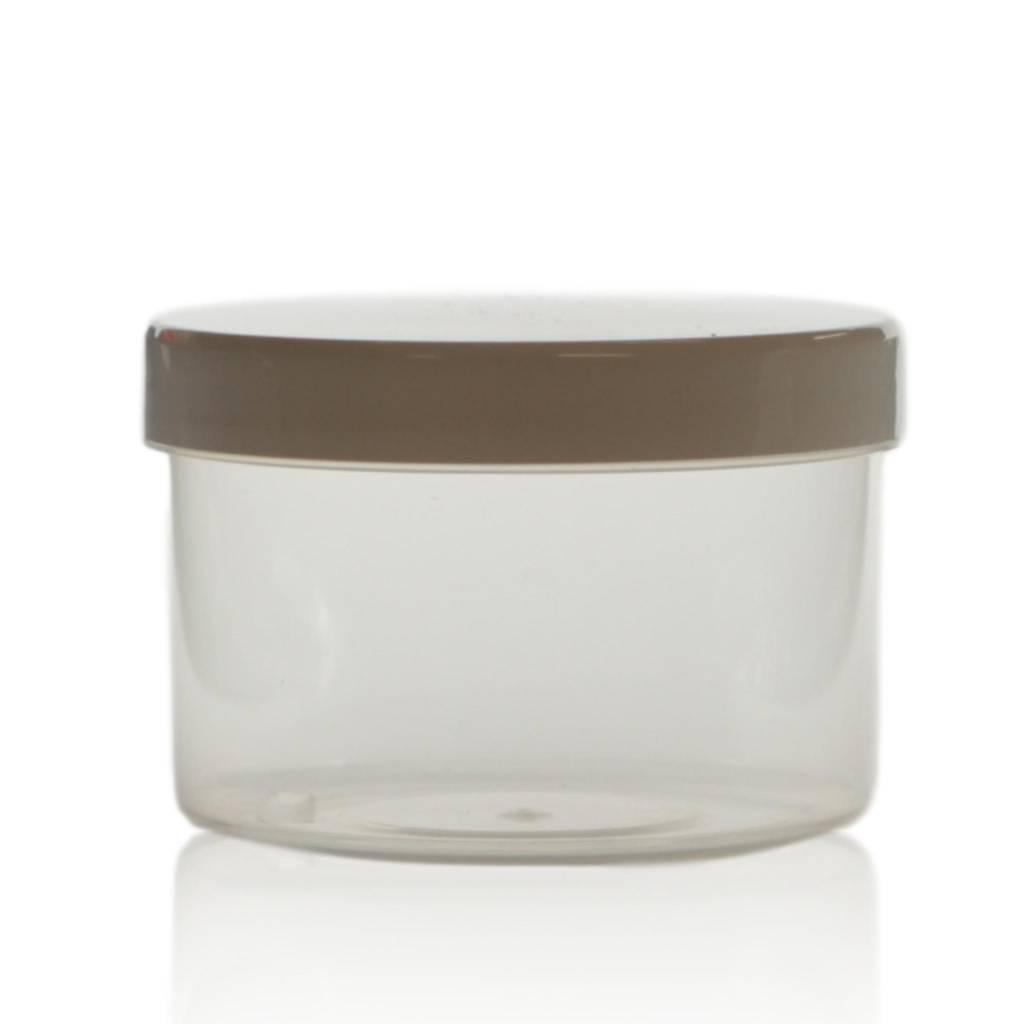 Cosmeticapot transparant 250 mL