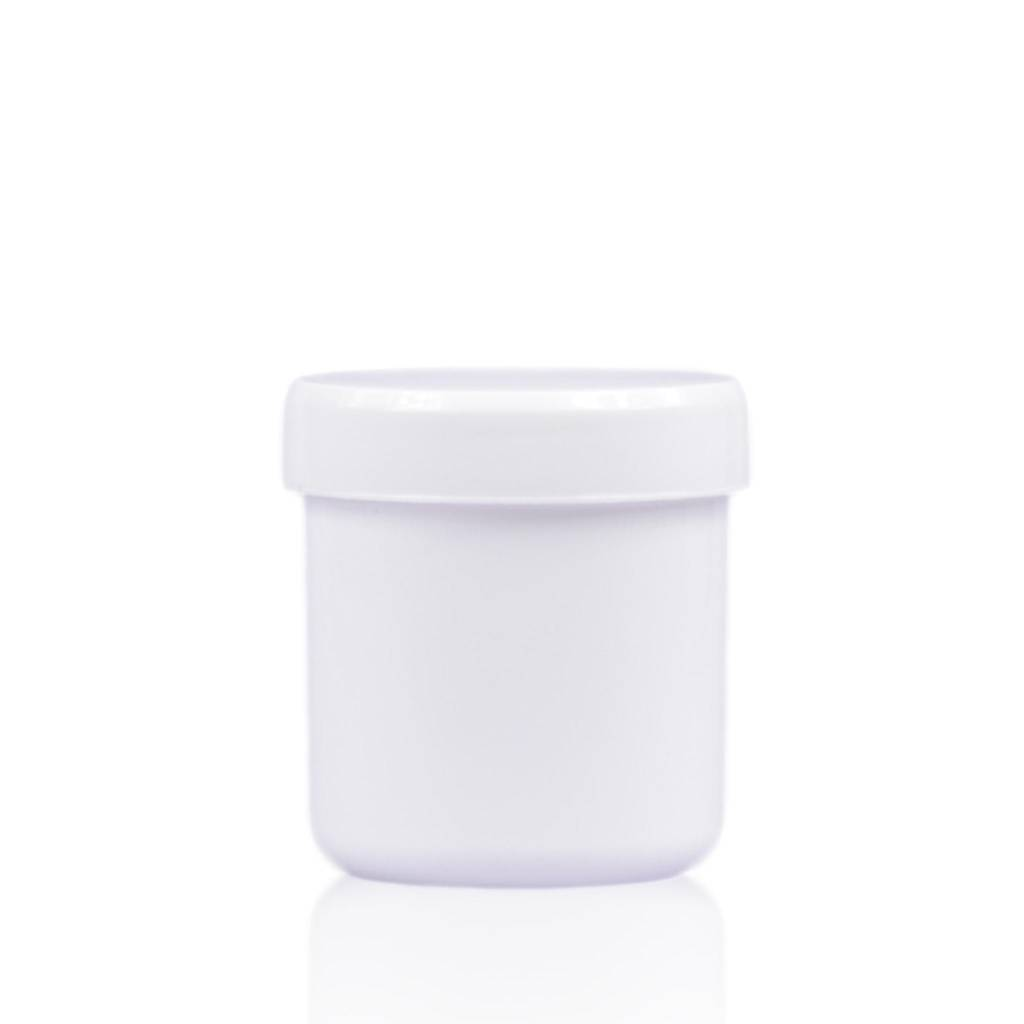Cosmeticapot wit 75 mL