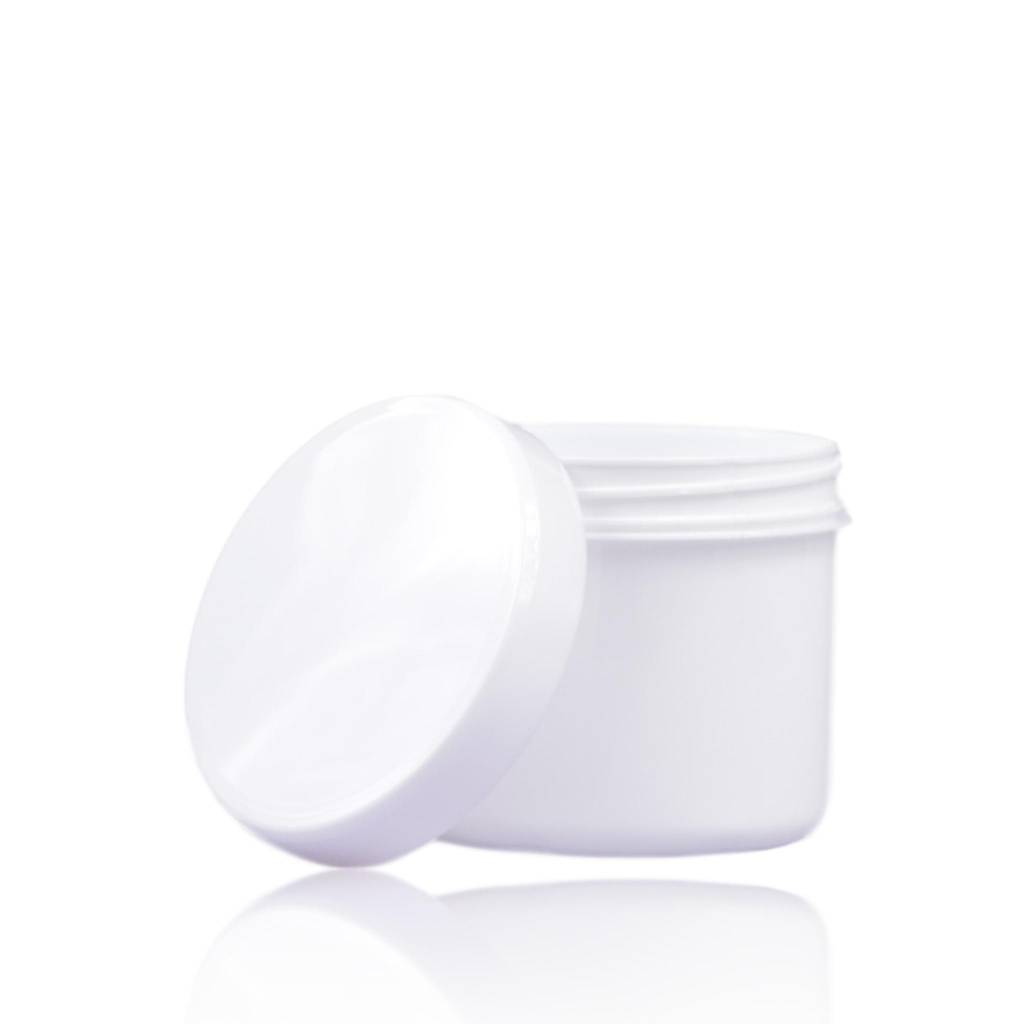 Cosmeticapot wit 135 mL