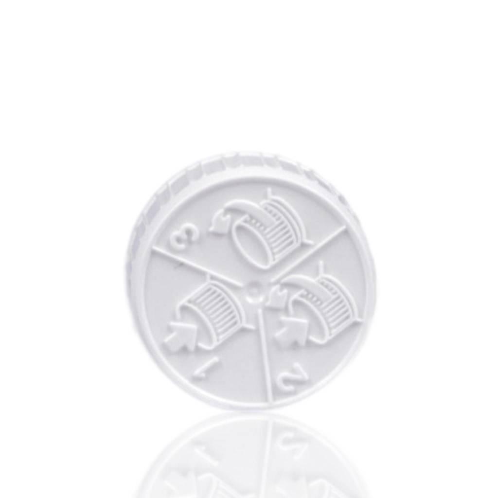 Schroefdop kinderveilig (halstype C of 28/410)