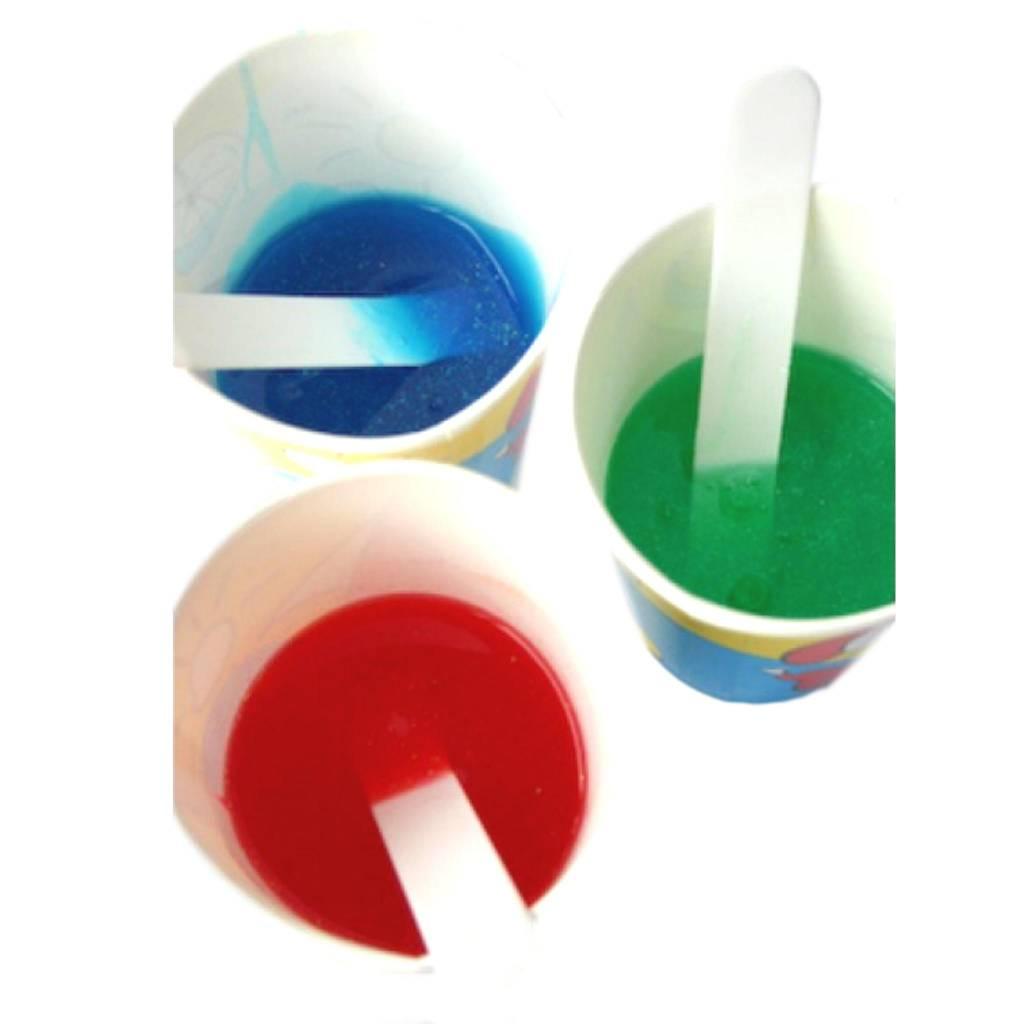 "Kinderfeest startpakket ""Vloeibare zeep met glitters maken"""