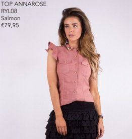 Royal Temptation SALE Ryl08 BLOUSE ANAROSE ZALM ROYAL TEMPTATION