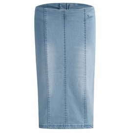 Given SALE GIVEN MESSA DENIM SKIRT LIGHT BLUE GW118501
