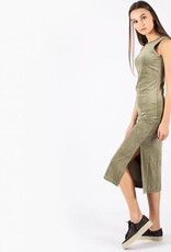 Jacky luxury SALE ARMY MAXI DRESS VELVET JACKY LUXURY | JLSS18107