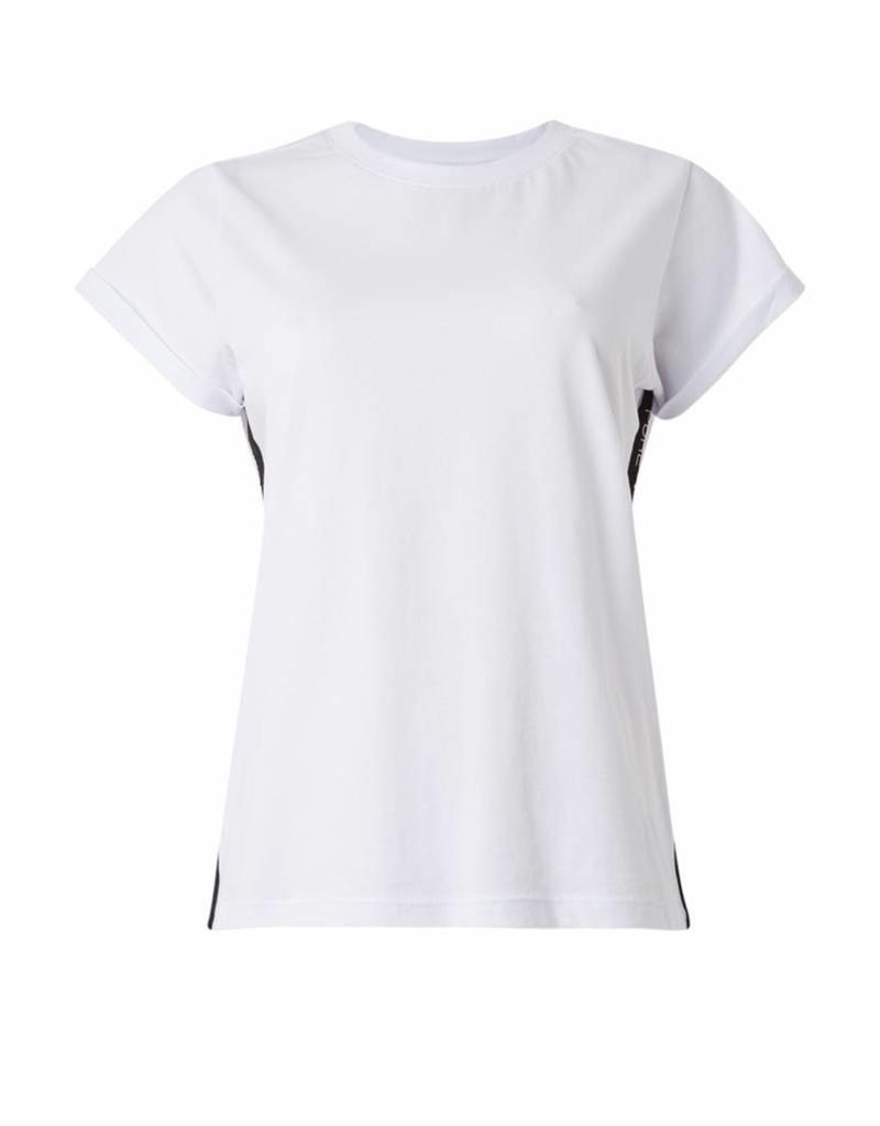 Purewhite #18015101 basic TAPE tee white branding