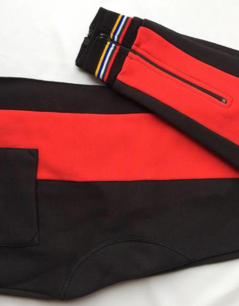 "Tudor ""York"" Tights Double Seat with Stripe"