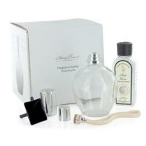 Ashleigh & Burwood Ashleigh & Burwood fragrance lamp discovery kit clear + 180ml fresh linen fragrance oil