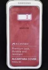 Samsung S8 Plus alcantara cover