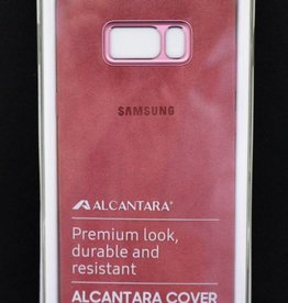 Samsung S8 Plus alcantara cover