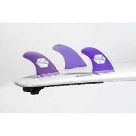 Featherfins Ultralight dual tab purple - large