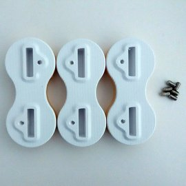 DRB FCS Fusion finbox white - 9 graden