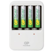 GP GP LED Powerbank 420 AA en AAA + 4c Recyko batterijen