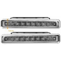 ProPlus 2 x 8 LED's 12V Dagrijverlichting 11 CM