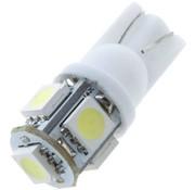 T10 5 x 5050 SMD LED White 12V Autolamp