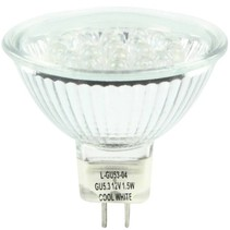 HQ GU5.3 Cool White LED'S MR16 3x 1 W