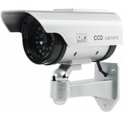Konig Konig CCTV Dummy Solar Camera in Buitenbehuizing met IR LED